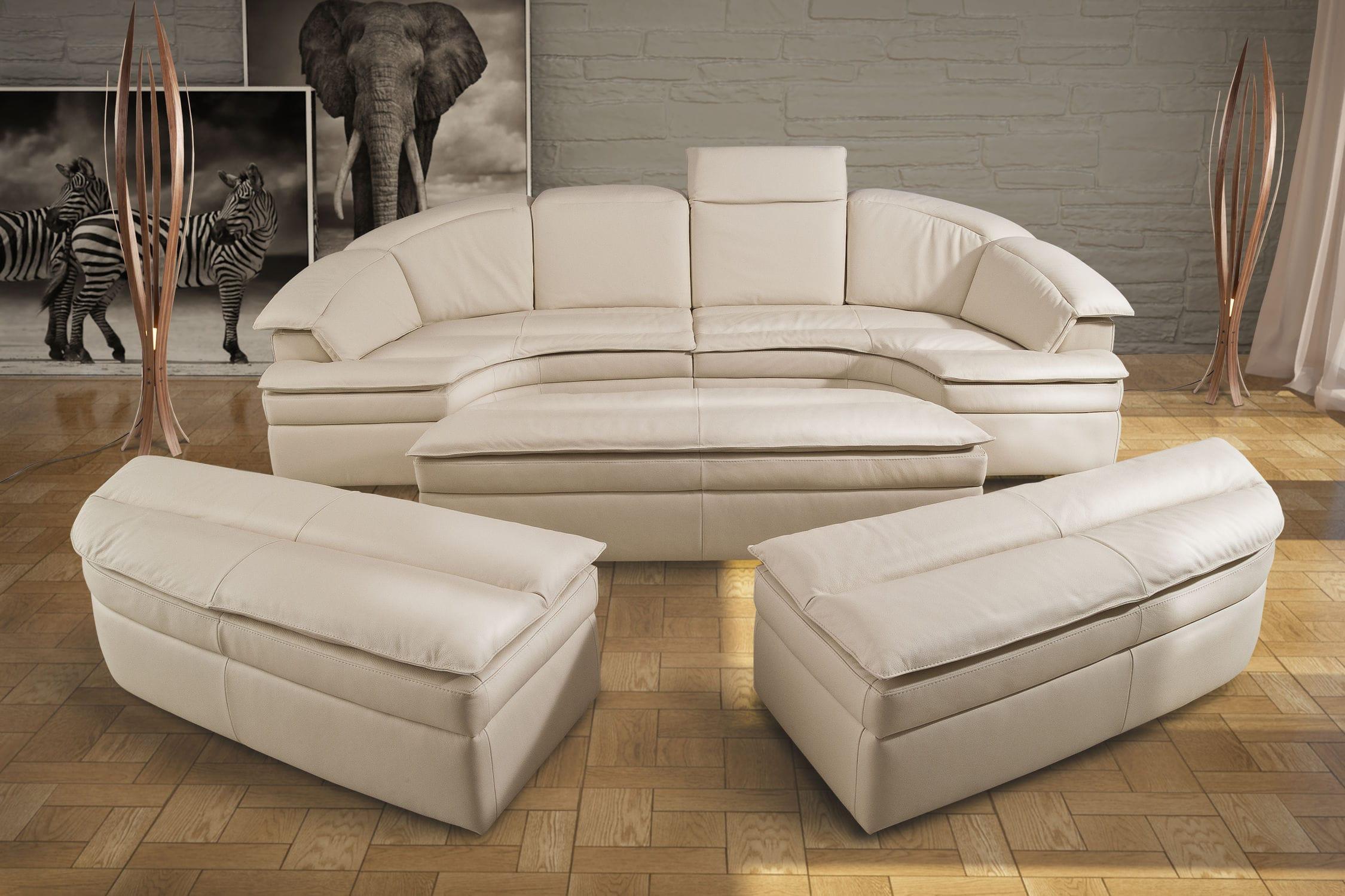 Sofa Halbrund