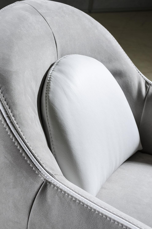 Klassische Sessel klassischer sessel stoff leder gewerbe cristina nieri