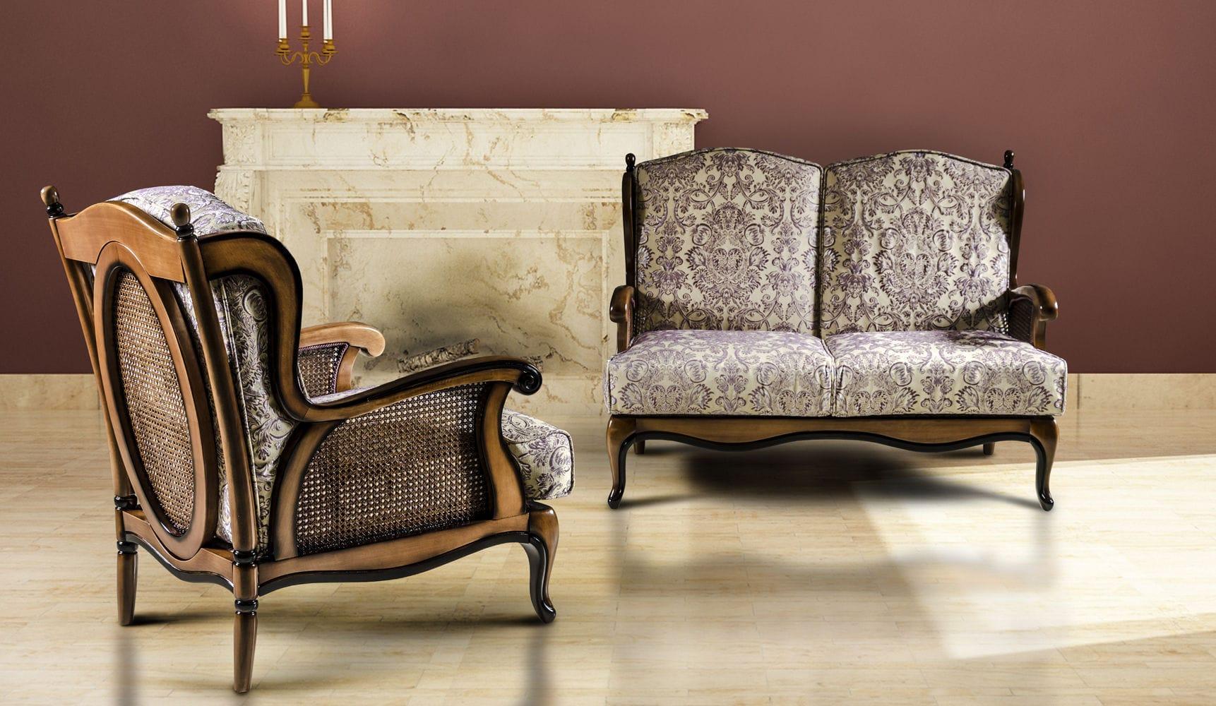 Klassisches Sofa klassisches sofa stoff 2 plätze mehrfarbig wien nieri