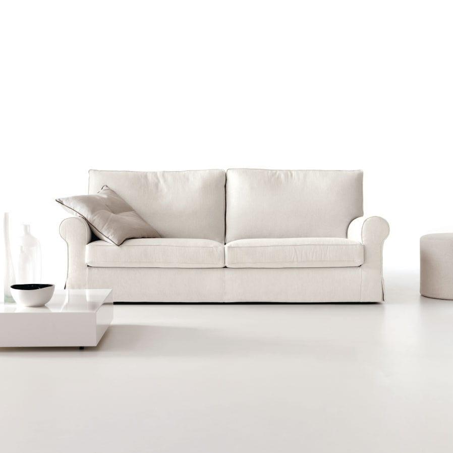 Innenarchitektur Sofa Mit Abnehmbaren Bezug Referenz Von Klassisches / Stoff / 2 Plätze /