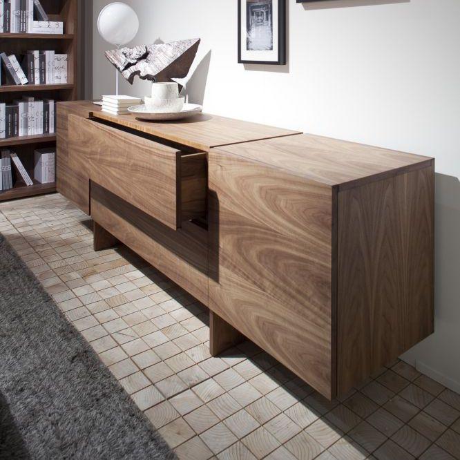 Modernes Sideboard Massivholz Aki By Bartoli Design Riva