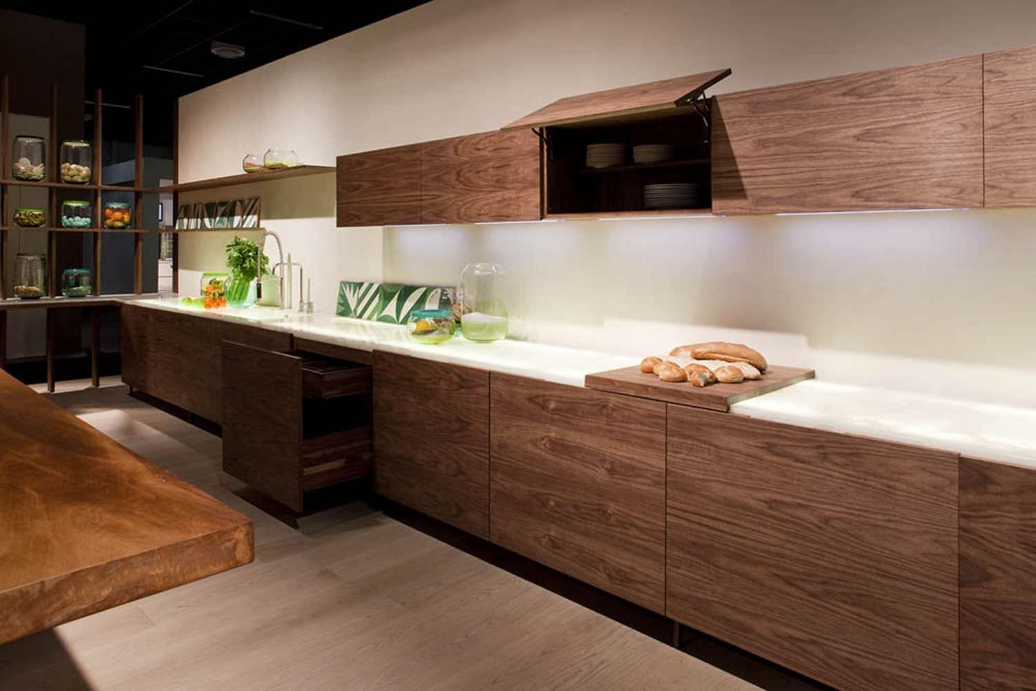 Moderne Küche / Holz / Kochinsel - LA CUCINA by Matteo Thun - Riva ...