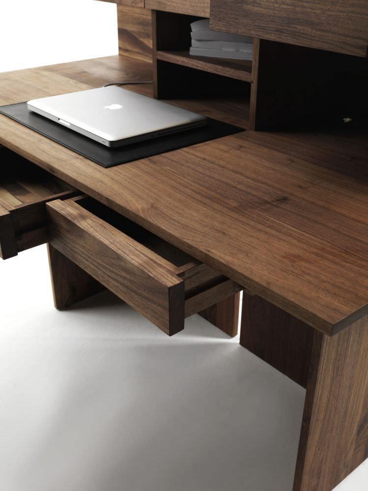 Schreibtisch holz modern  Holz-Schreibtisch / modern - RIGA - Riva Industria Mobili