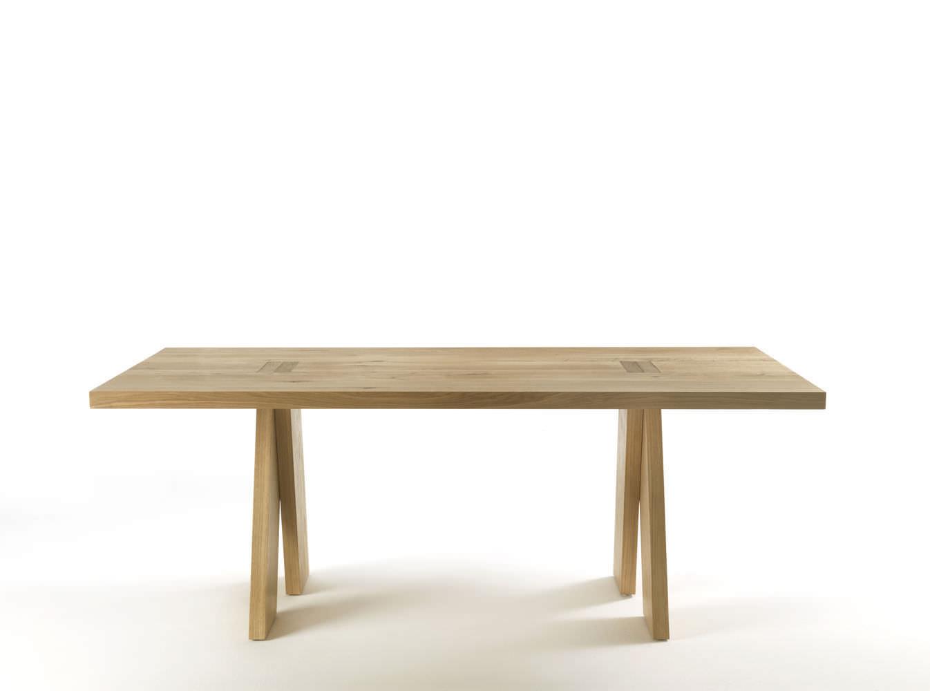 Moderner Tisch / Aus Eiche / Massivholz / Rechteckig   JEDI By Bartoli  Design