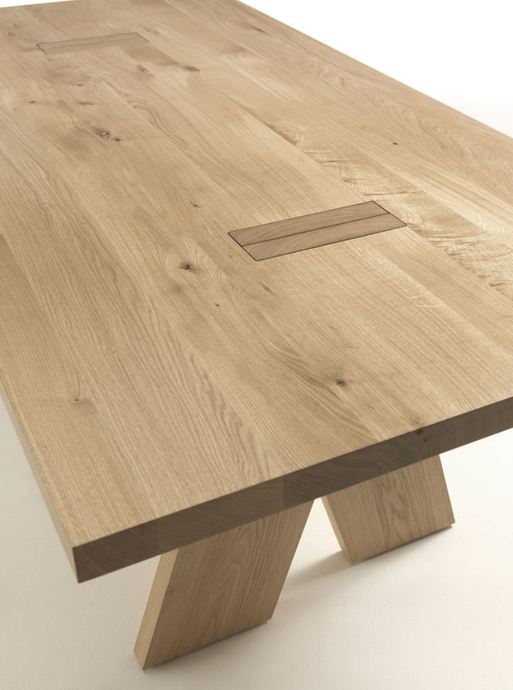 ... Moderner Tisch / Aus Eiche / Massivholz / Rechteckig JEDI By Bartoli  Design Riva Industria Mobili