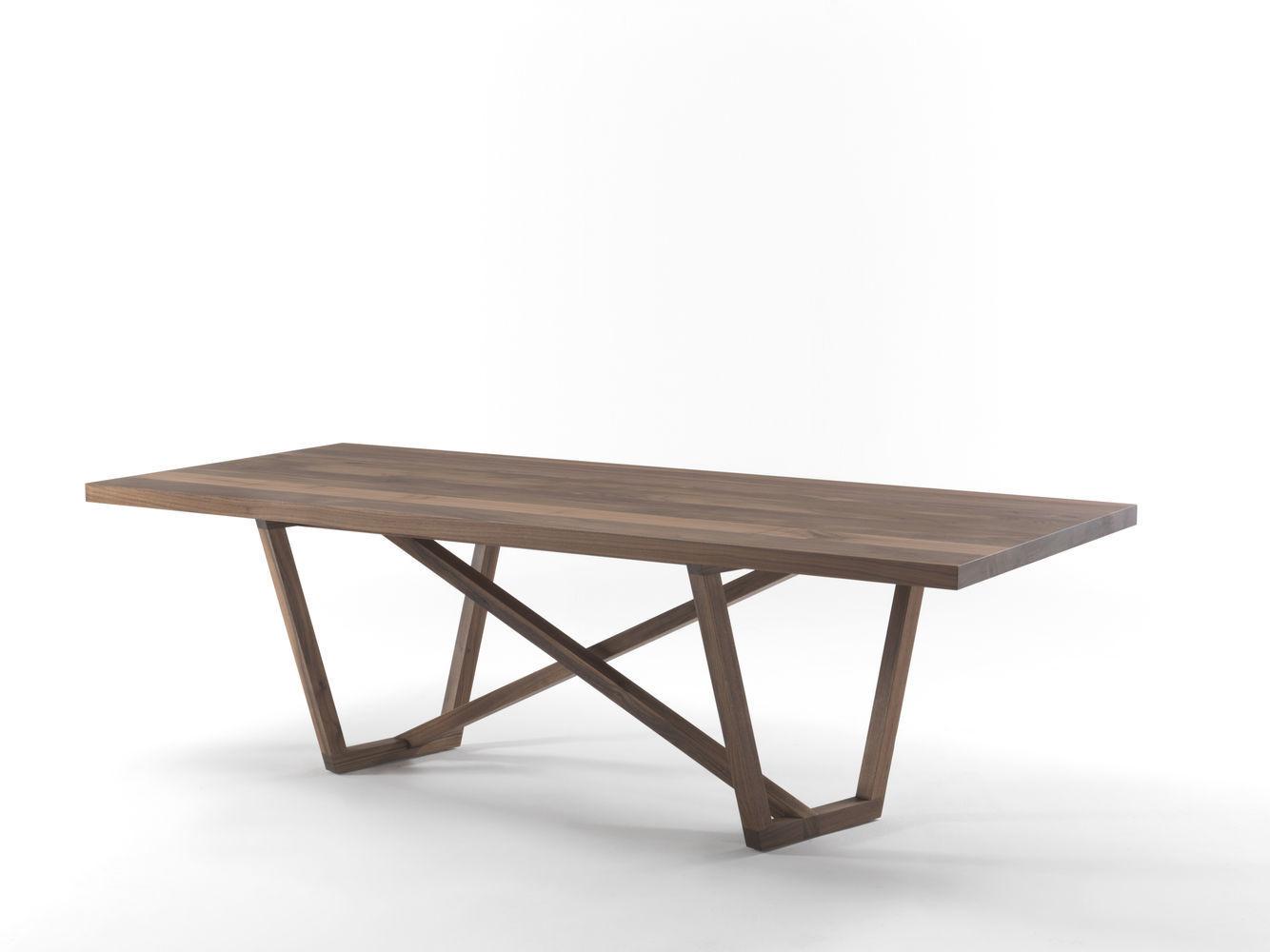 Moderner Tisch / Massivholz / Rechteckig TRAVERSO By Giovanna Azzarello Riva  Industria Mobili ...