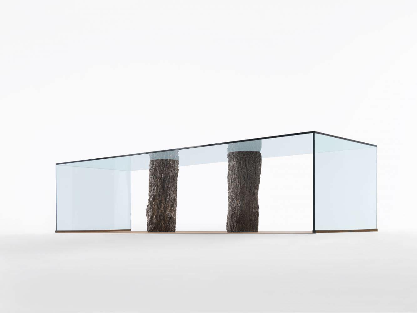 ... Moderne Tisch / Holz / Glas / Rechteckig LAGUNA By Paolo Piva Riva  Industria Mobili ...