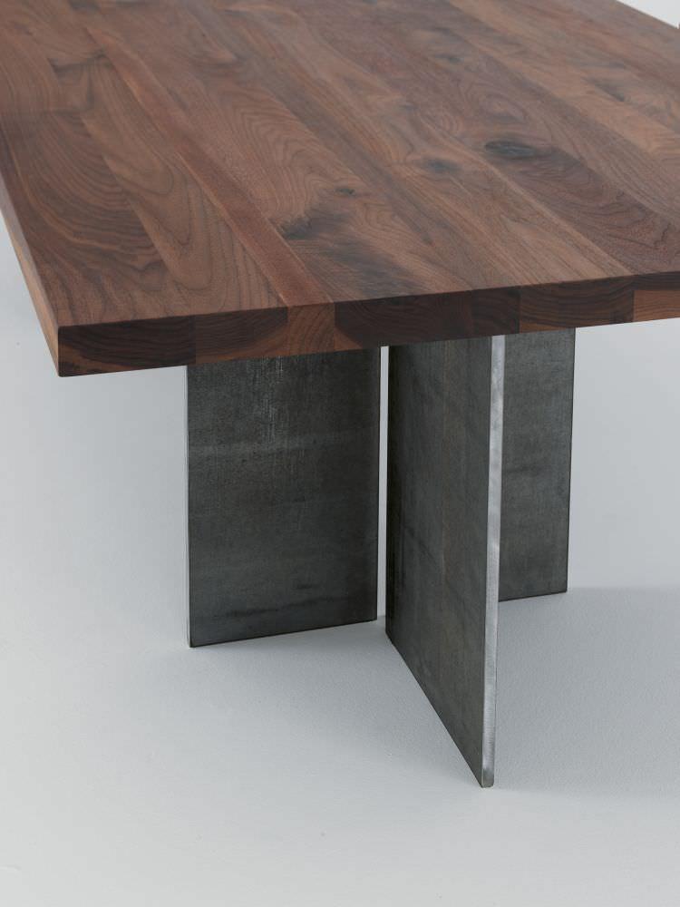 ... Moderner Tisch / Massivholz / Eisen / Rechteckig GUALTIERO By Gualtiero  Marchesi Riva Industria Mobili