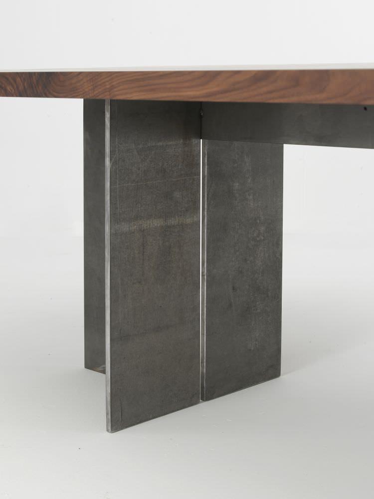... Moderner Tisch / Massivholz / Eisen / Rechteckig GUALTIERO By Gualtiero  Marchesi Riva Industria Mobili ...