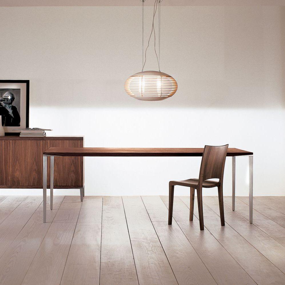 Moderner Tisch / Massivholz / Aluminium / Rechteckig ALFREDO Riva Industria  Mobili ...