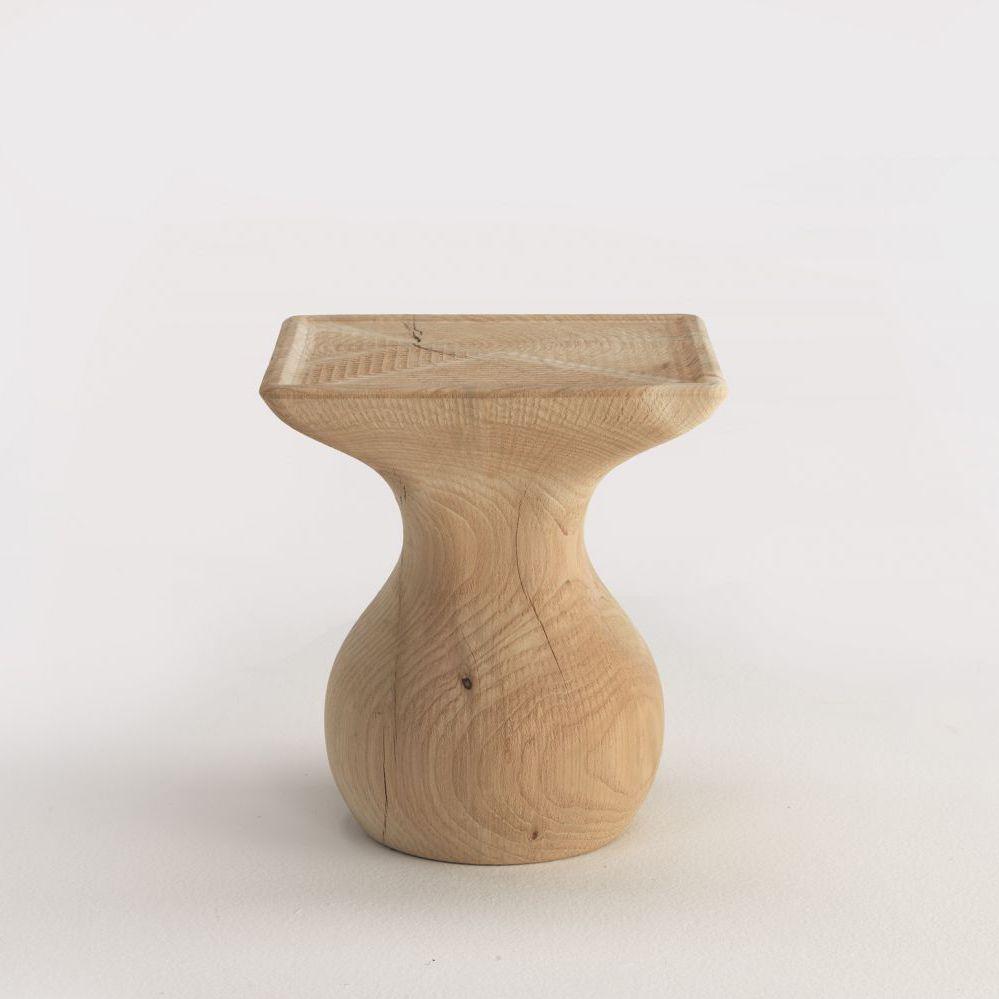 Beistelltisch / Originelles Design / Massivholz / Aus Zeder / Quadratisch    BI By Mathias Hoffmann