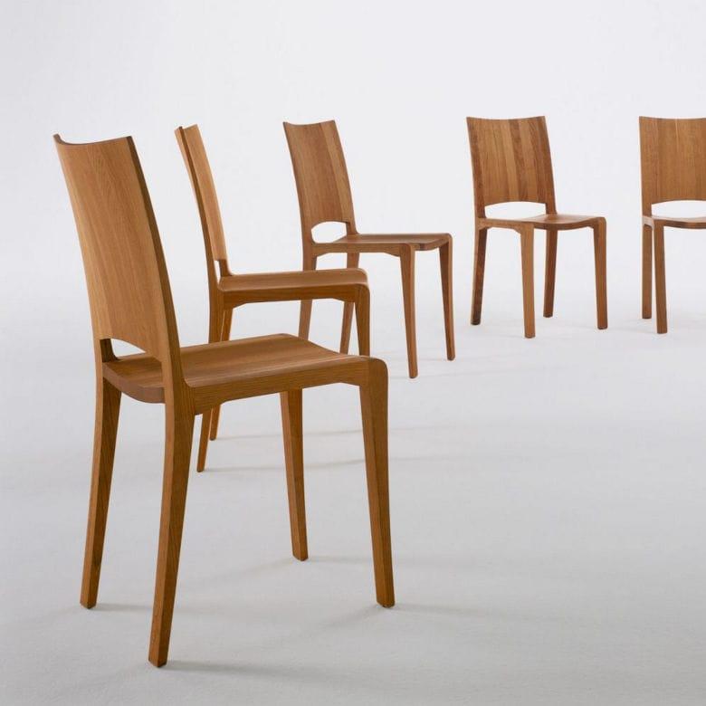 Moderner Stuhl / Ergonomisch / Massivholz / Leder   PIANO DESIGN By Renzo U0026  Matteo Piano