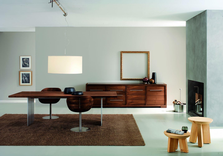 ... Moderner Tisch / Massivholz / Aus Aluminium / Rechteckig ORLANDO Riva  Industria Mobili ...