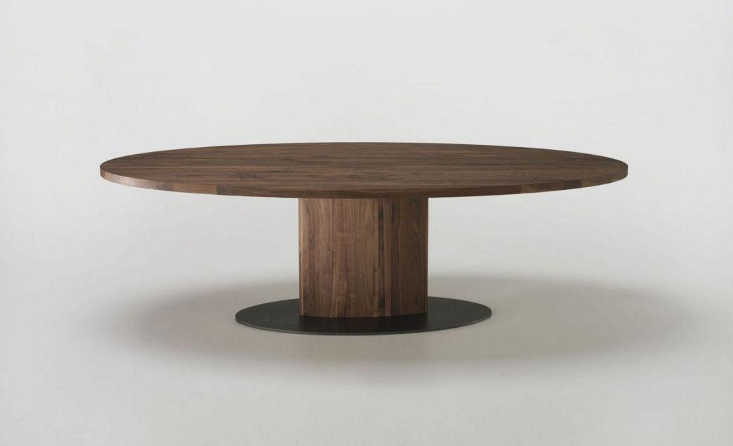 ... Moderner Tisch / Massivholz / Oval / Rechteckig PARSIFAL Riva Industria  Mobili