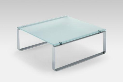 Moderner Couchtisch Glas Metall Quadratisch 8710 By Edgar