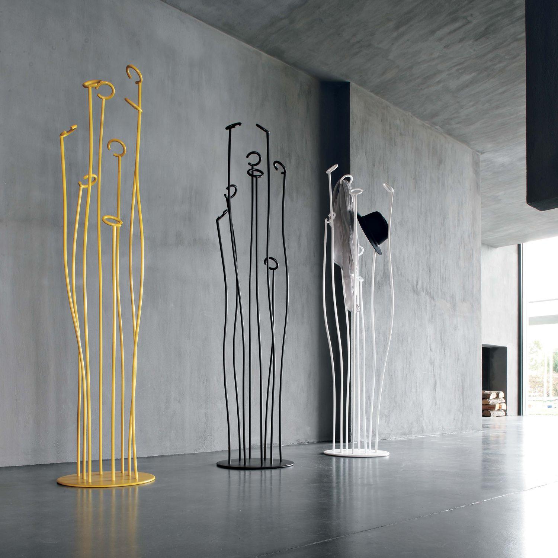 Bodenstehender Garderobenständer Originelles Design Metall