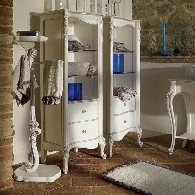 Säulenschrank Für Badezimmer / Klassisch   CAPRI