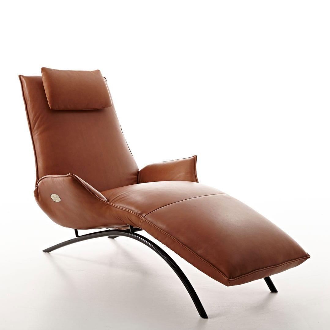 Moderne Relaxliege koinor relaxliege cheap moderne liege stoff leder stahl jeremiah by