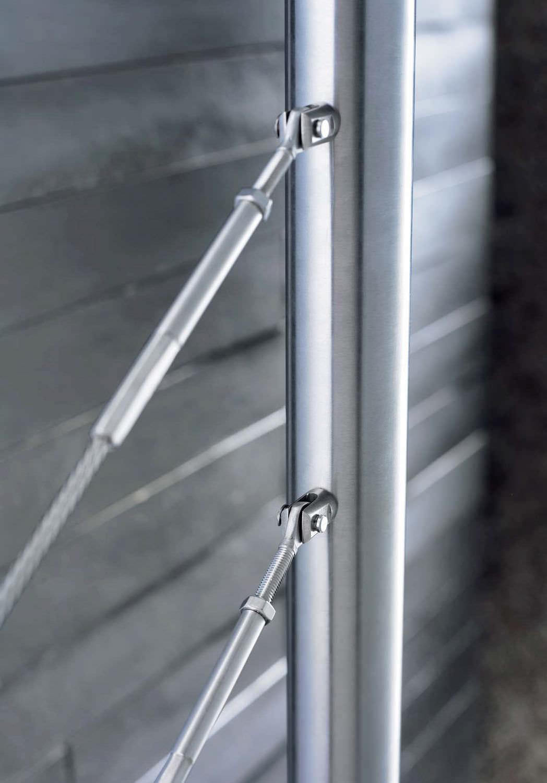 Spelter-Socket / Metall / für Geländer - I-SYS - EYES - RONSTAN