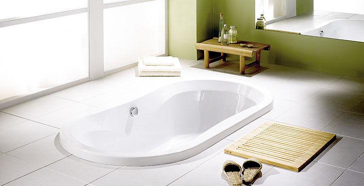 Badewannen Oval: Ideen für kleines bad design platzsparende ...