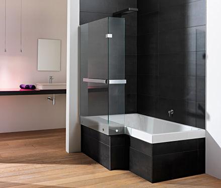 Duschbadewanne stairway  Badewannen-Duschkombination / Einbau / rechteckig / aus Acryl ...