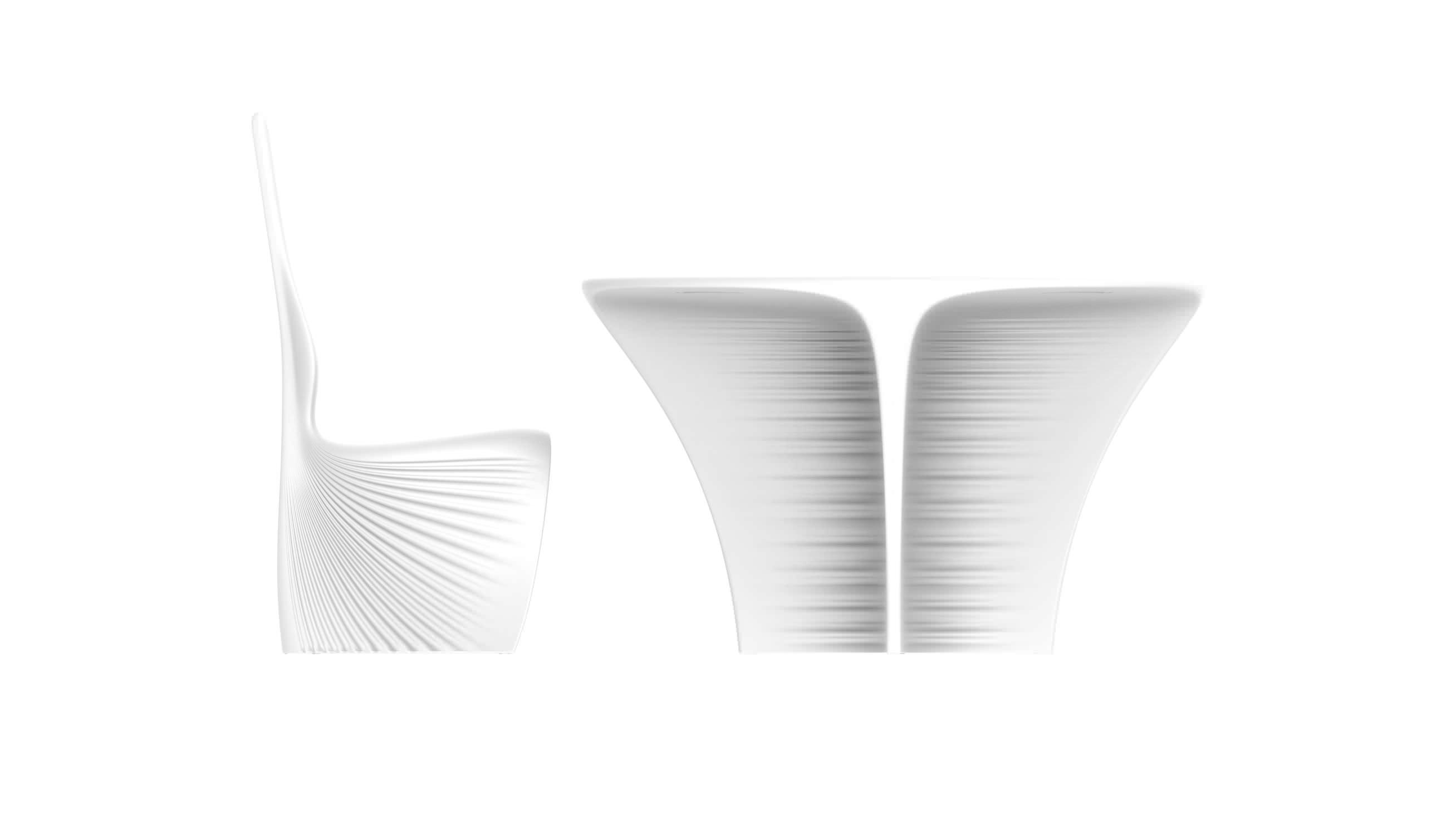 ... Tisch / Organisches Design / Rotationsgesintertes Polyethylen / Rund /  Garten BIOPHILIA VONDOM ...