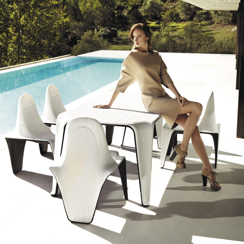 Fesselnd Gartenstuhl / Originelles Design / Polyethylen / Von Fabio Novembre   F3