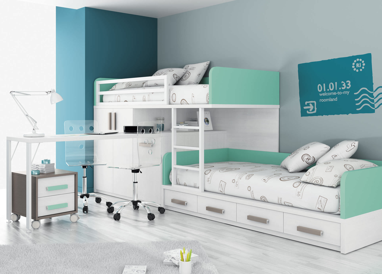 AuBergewohnlich Etagenbett / Einfach / Modern / Für Kinder (Jungen Und Mächen)   TOUCH 53