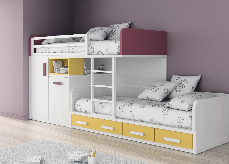 Etagenbett Für Kinder Mit Stauraum : Etagenbett einfach modern für kinder jungen und mächen
