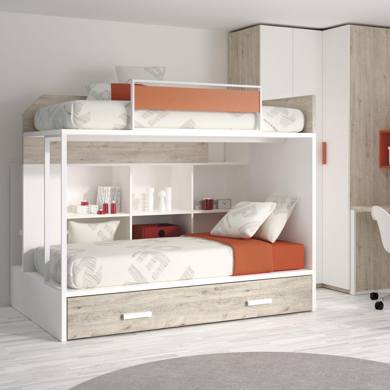 Etagenbett / Einfach / Modern / Für Kinder (Jungen Und Mächen)   TOUCH 58