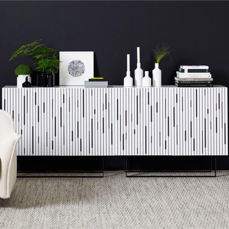 Modernes Sideboard / Holz / Stahl - GUESS by Jipson Design - KARL ...