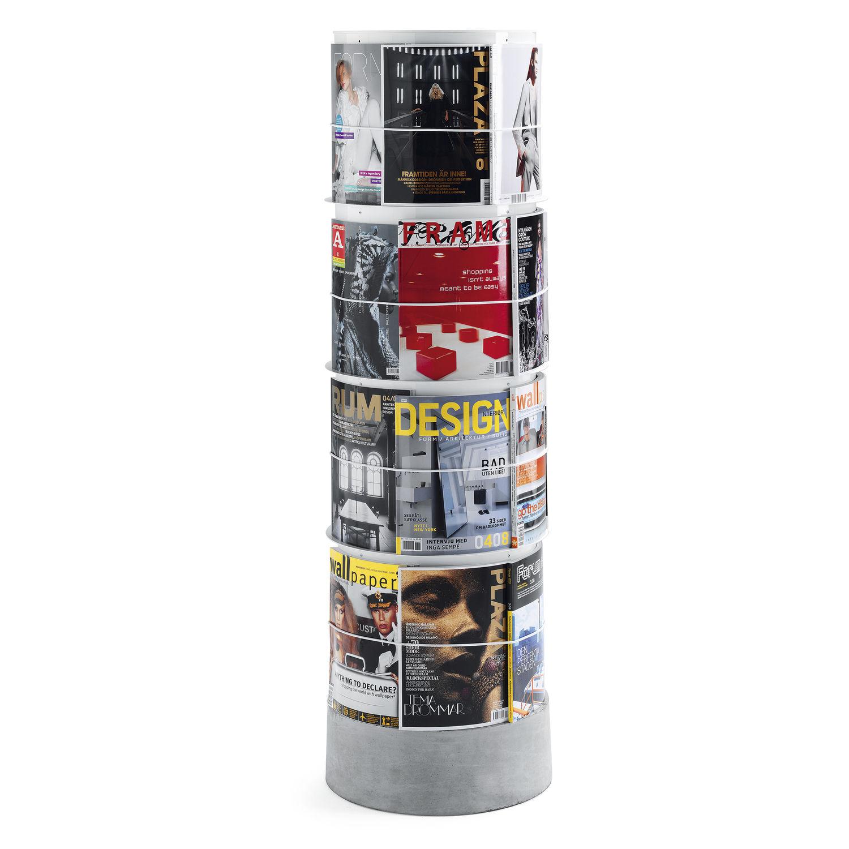 Zeitschriften Ständer moderner zeitschriftenständer gewerbe metall subway by