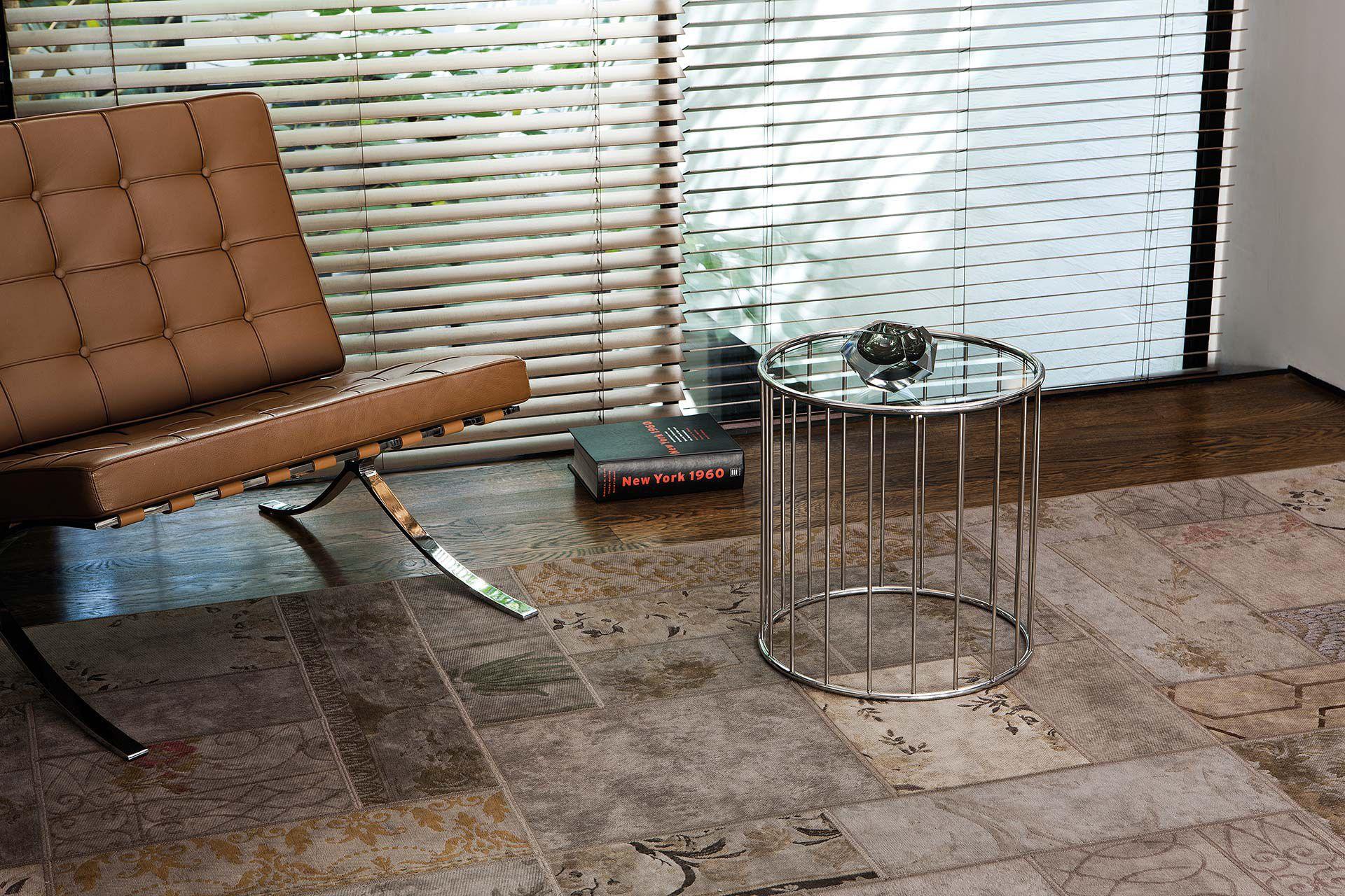 Moderner Teppich Motiv Leder Baumwolle Gipsy Limited Edition