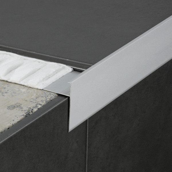 Aluminium Abschlussprofil Fur Fliesen Winkel Novoperi Emac