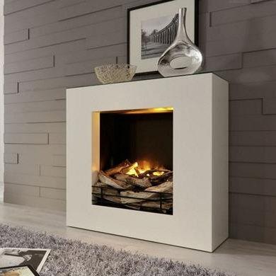 Elektrischer Kamin / Modern / Geschlossene Feuerstelle / Einbau ... Kaminofen Modernes Design