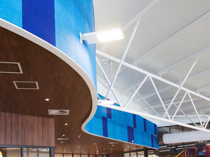 Amf Decken Eigenschaften : Akustikplatte für abgehängte decken innenwand aus