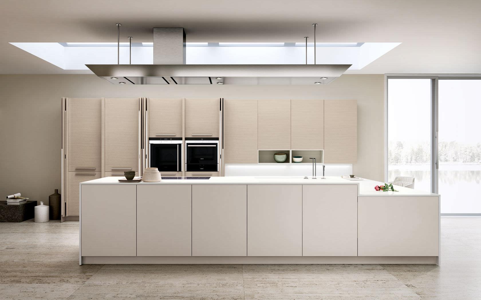 Moderne Küche / Holz / lackiert - OPAL REGULA - Lineaquattro | {Moderne küche 42}