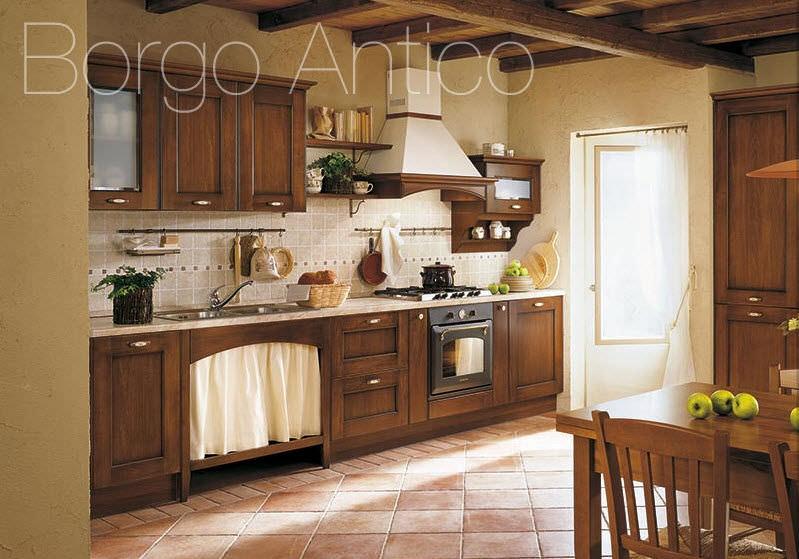 Klassische Küche / Massivholz / Holz - BORGO ANTICO 01 - Gory Cucine