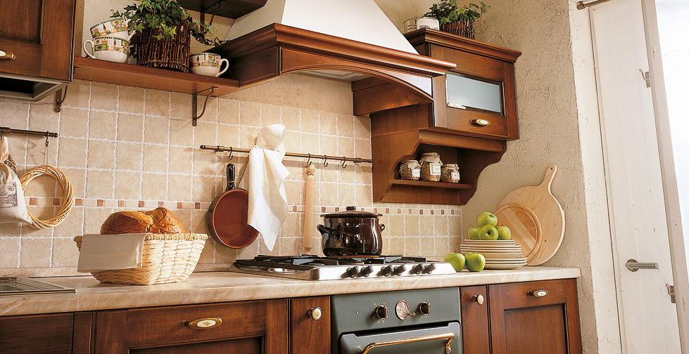 Klassische Küche / Massivholz / Holz / mit Griffen - BORGO ANTICO 01 ...