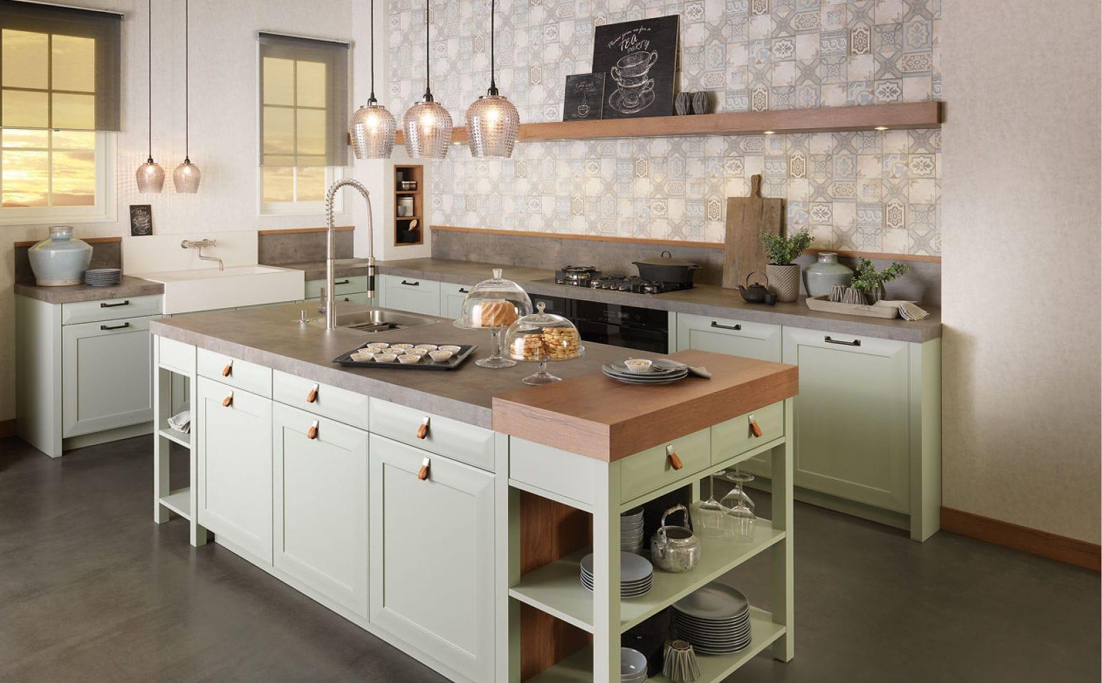 Beste Klassische Küchen Rich Va Zeitgenössisch - Küche Set Ideen ...