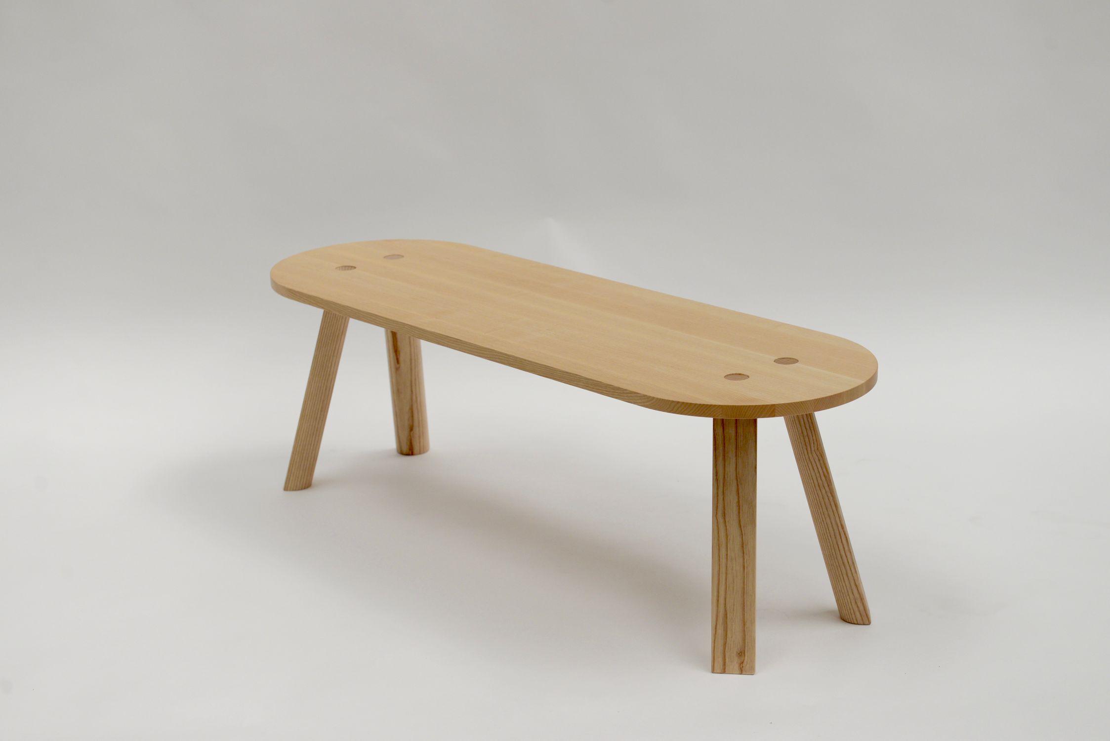 Wunderbar Beistelltisch Holz Rund Dekoration Von Moderner / / / Oval