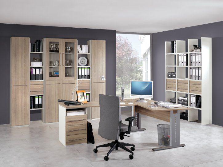 Chefschreibtisch Holz Metall Modern Easy Officeplus Röhr Bush