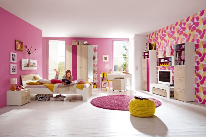 wei es kinderzimmer f r m dchen it s classic r hr bush. Black Bedroom Furniture Sets. Home Design Ideas