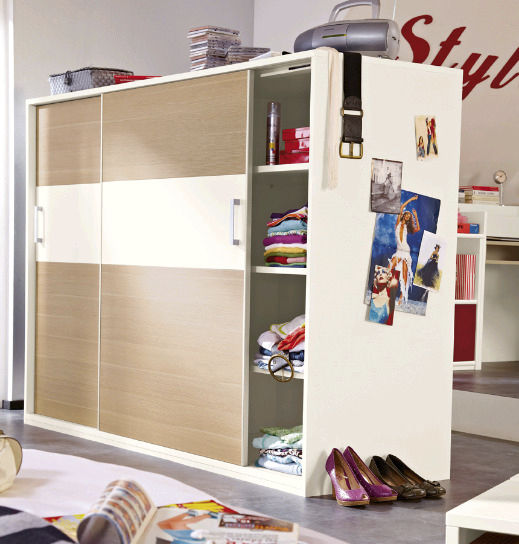 kleiderschranke fur kinderzimmer, moderner kleiderschrank / holz / schwingtüren / für kinder - beat, Design ideen