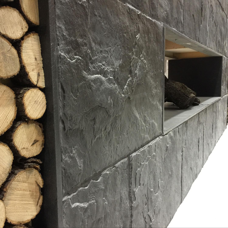 Beton Wandverkleidung beton wandverkleidung für privatgebrauch struktur steinoptik