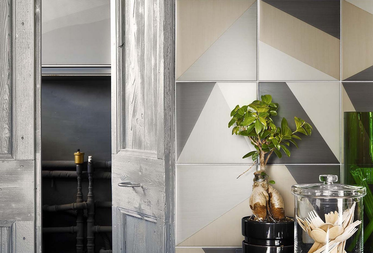 Reizvoll Fliesen Wohnzimmer ~ Fliesen für badezimmer für böden keramik mit geometrischem