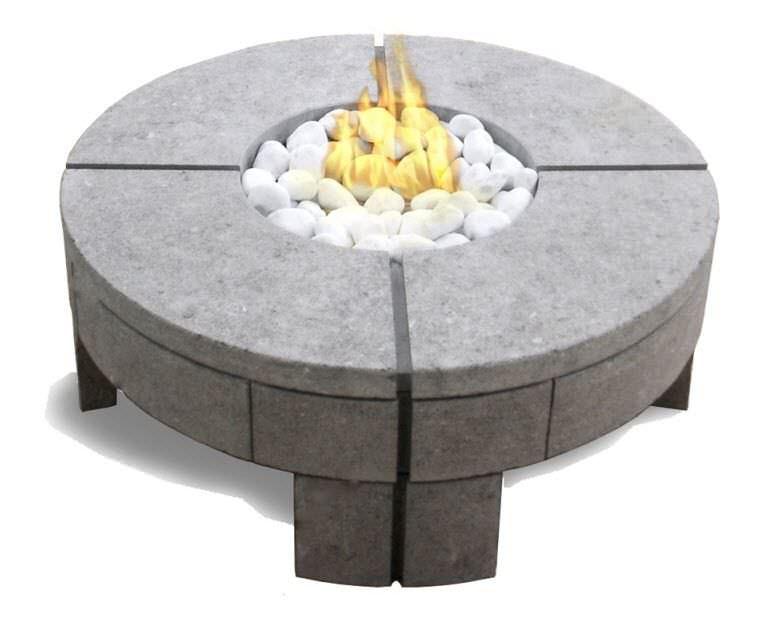Moderner Couchtisch Stein Rund Für Den Garten 919 By