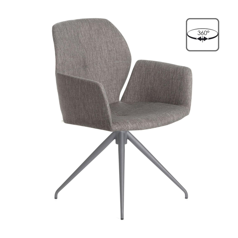 Moderne Stühle moderner stuhl drehbar polster mit armlehnen mood 95 pm07