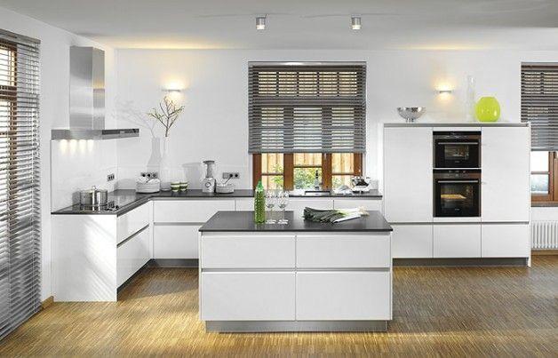 Moderne Küche / Holz / Kochinsel / Lackiert   X CRISTAL