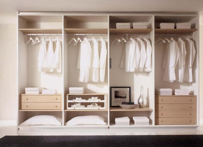 marvelous kleiderschrank systeme schlafzimmer #5: Kleiderschrank systeme Moderner Begehbarer -Kleiderschrank / Holz - WHY  SYSTEM : 50 .